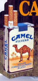 Camel Cigarette Billboard Sign