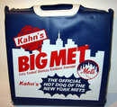 NY METS VINTAGE KAHNS HOT DOG SEAT CUSHION SHEA