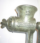 Universal Cast Iron Hand Meat Grinder