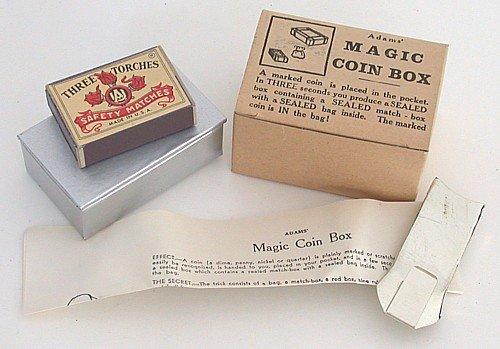 Adams Magic Coin Slide Box Toy
