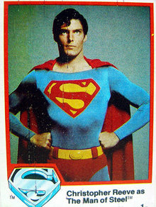 Topps Superman Cards 1978 Christopher Reeve