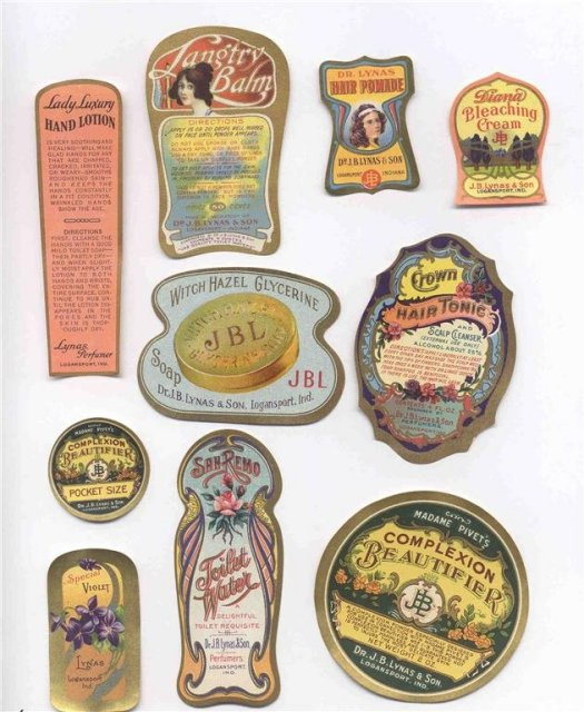 Logansport Cosmetic Beauty Labels