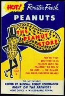 Mr. Peanut Planters Snack Bag