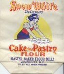 Snow White Flour Bag 1940s