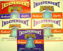 Liberty Bell Independent Crate Labels