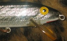 Silver Sinker Fishing Lure