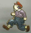 Dutch Boy Enamel Pin