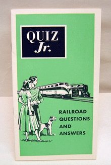 Railroad Quiz Booklet