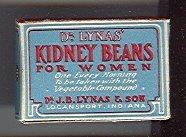 Dr. Lynas Kidney Beans Medicine Box