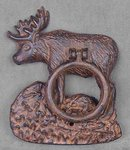 CAST IRON MOOSE DOOR KNOCKER