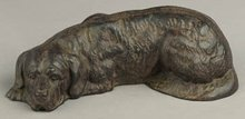 CAST IRON DOG BANK * NEW