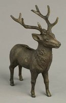 CAST IRON DEER BANK * NEW