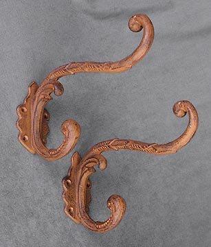 Cast Iron Clothing Hooks