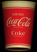 Coca-Cola Soda Cup 1950s - Coke