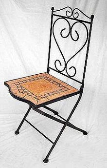 Terracotta Dining Chair - Tuscany