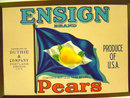 Ensign Pear Label