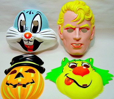 Collegeville Halloween Masks