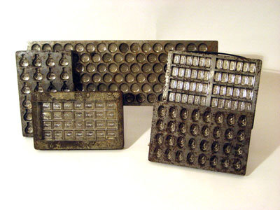 Belgium Chocolate Candy Mold 1930s