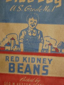 Blue Boy Kidney Beans Bag