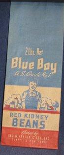 Blue Boy Kidney Beans Bag