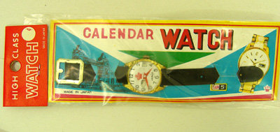 Japan Calendar Watch Toy