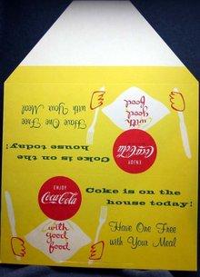 Coke Diner Tripod Sign