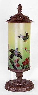 HAND PAINTED BIRD LAMP / ACCENT LIGHTING NEW