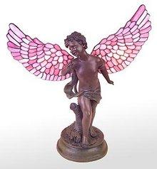 ANGEL RESIN WING LAMP / NEW LIGHTING