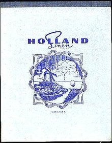 HOLLAND SCHOOL WRITING TABLET / VINTAGE