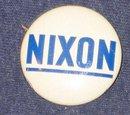 RICHARD NIXON CAMPAIGN PINBACK PIN
