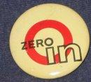 Zero In Pinback Pin