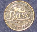 VINTAGE METAL BASS SHOES STORE COUPON TOKEN