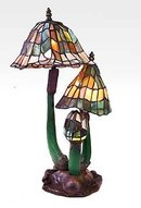 MUSHROOM ART DECO LAMP / NEW LIGHTING