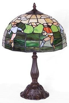 RUGBY GLASS LAMP