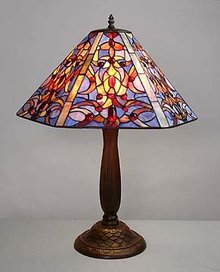 BAROQUE GLASS LAMP 20