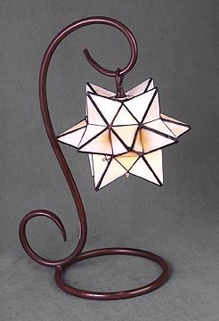 Glass Star Lamp - 3D