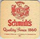 Schmidt's Beer Coasters