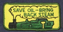 Save Oil Steam Patch