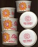 Elsie the Cow Borden Ice Cream Containers Lot
