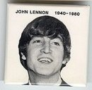 John Lennon Memorial Pins Pinbacks