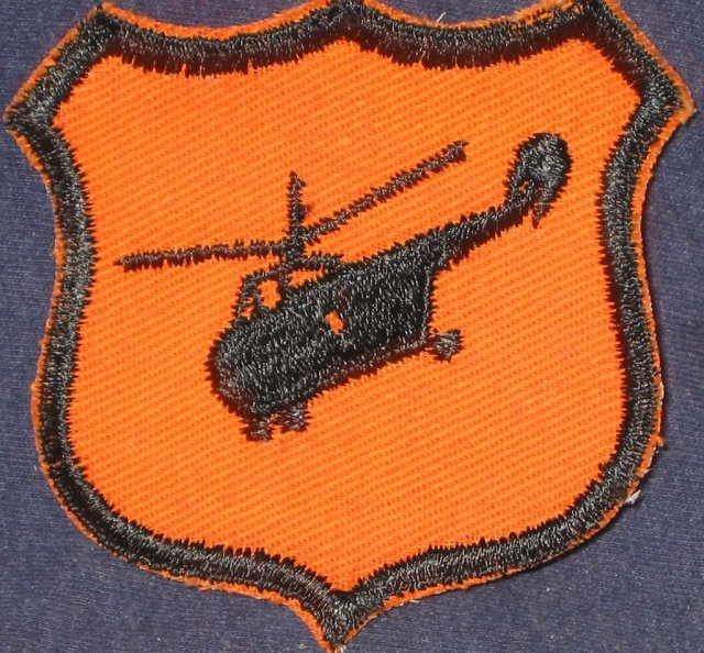 Vietnam Helicopter War Patch