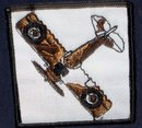 VINTAGE AIRPLANE JACKET PATCH
