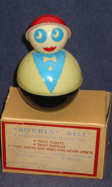 Bobbin Bill Bath Toy