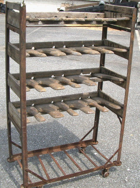 Wood Shoe Rack - 1930s
