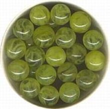 Champion Whirlwind Marbles in Yellow Glass toy