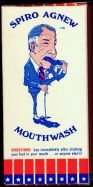 SPIRO AGNEW MOUTHWASH COLLECTIBLE BATHROOM BOX