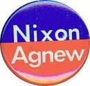 NIXON AGNEW POLITICAL REPUBLICAN PINBACK PIN