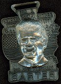 Pewter Jimmy Carter Fob