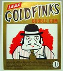 Goldfinks Bubblegum Vending Card