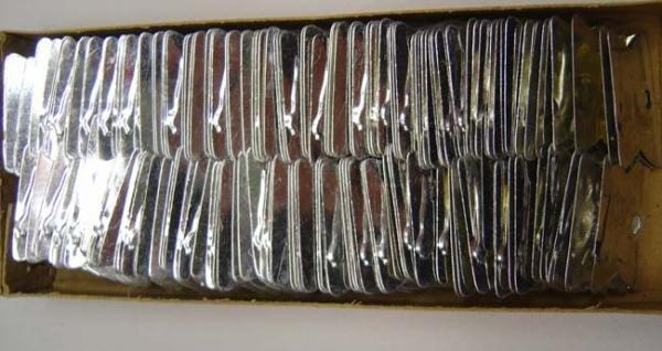 144 VINTAGE 1950S TIN BIRD WHISTLES / JAPAN TOY